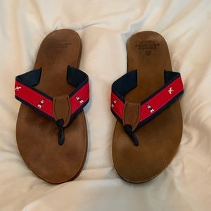 Brooks Brothers Nautical Sandals - SIZE 13 MENS